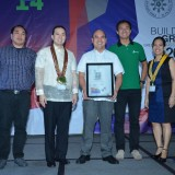 Presented-Certificate-to-Lafarge-Cement-ServicesPhilippines-Inc