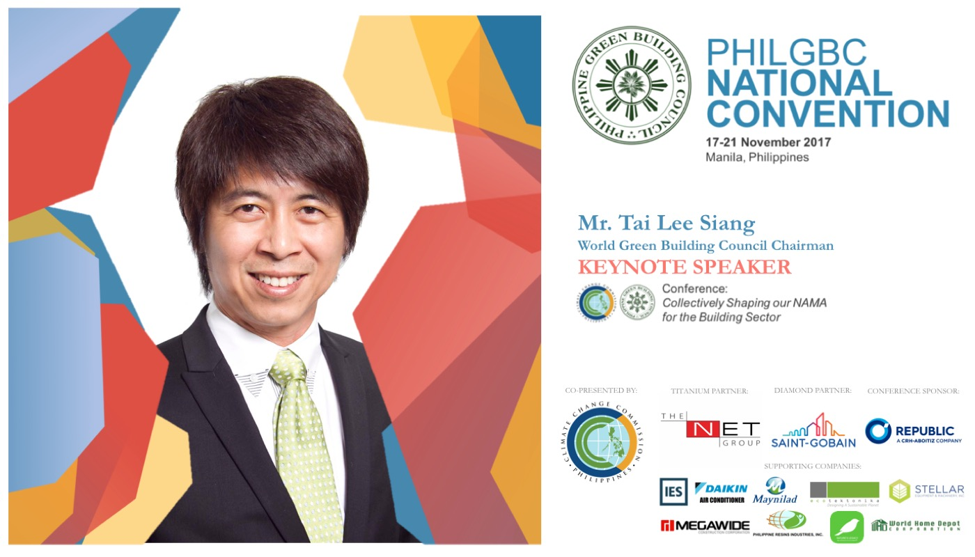 World Green Building Council Chairman To Deliver A Keynote Speech At